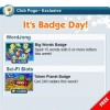 Weekly Badge Tips 4/24-4/30
