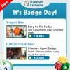 Wednesday Badge Tips 1/4 – 1/10