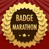Award Info on the Animated Badge Marathon Badge