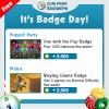Wednesday Badge Tips 7/12 – 7/18