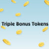 Triple Bonus Tokens 1 – First Class Solitaire, Trivial Pursuit, Poppit!
