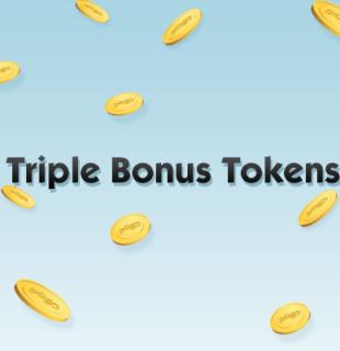 Triple Bonus Tokens
