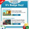Wednesday Badge Tips 9/20 – 9/26