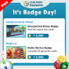 Wednesday Badge Tips 10/11 – 10/17