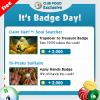 Wednesday Badge Tips 12/06 – 12/12