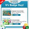 Wednesday Badge Tips 12/13 – 12/19
