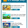Weekly Badge Tips 2/21 – 2/27