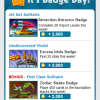 Weekly Badge Tips 3/21 – 3/27