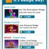 Weekly Badge Tips 3/28 – 4/3