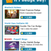 Weekly Badge Tips 4/11 – 4/17