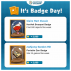 Badge Tips 6/26 – 7/2