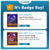 Badge Tips 7/10 – 7/16