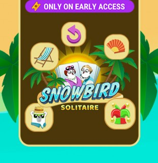 Limited Time: Play Daily on Early Access, Earn Snowbird Solitaire Power-Ups